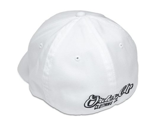 Hat White Back