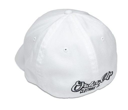 Hat White Back