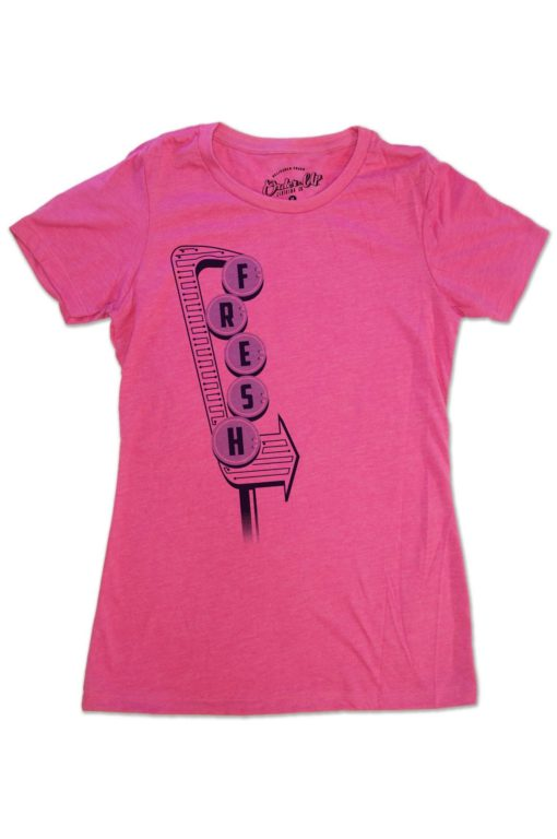 Womens Raspberry Fresh T-Shirt