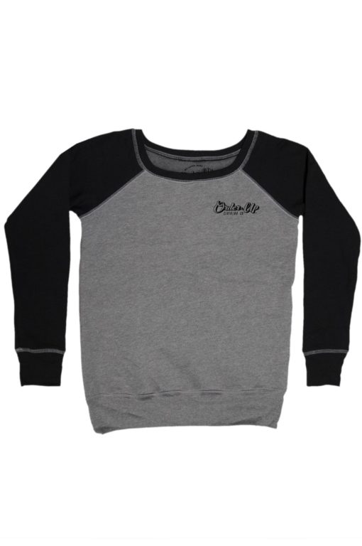 Womens_fleece_sweatshirt_DHTHR.BLK_logo_Main