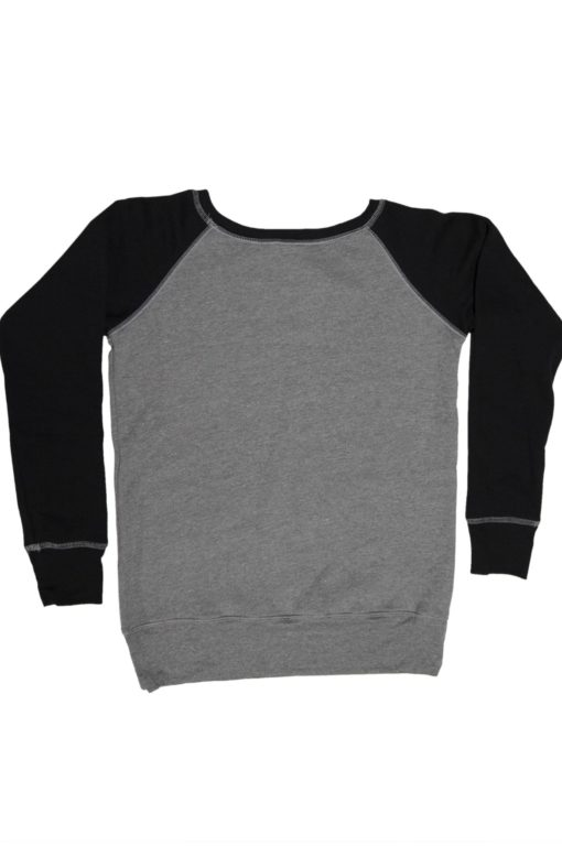 Womens_fleece_sweatshirt_DHTHR.BLK_logo_Back