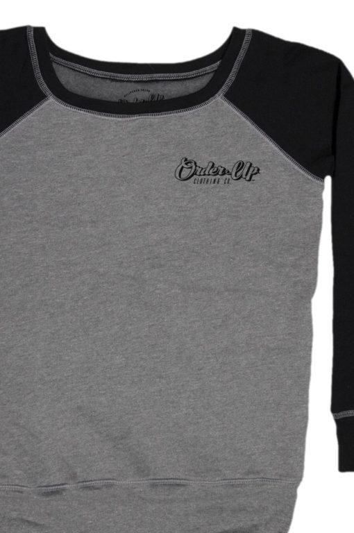 Womens_fleece_sweatshirt_DHTHR.BLK_logo_Main